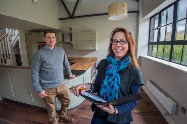 Top Yorks interior designer completes transformation of former car showroom into modern apartments