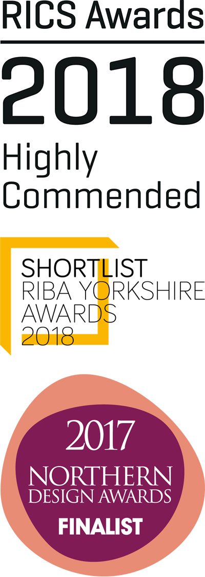 Nelson's Yard - RICS Awards Highly Commended 2018, RIBA Awards Shortlist 2018 & Northern Design Awards Finalist 2017