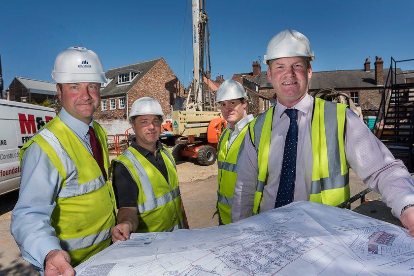 Building work starts on new sustainable town houses at former York city centre pub