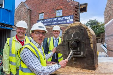 York's latest des res comes complete with show area for industrial artefacts